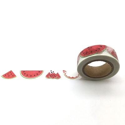 jiataihe Washi Tape Decorative Scotch Tape Scrapbook Paper Masking Adhesive Tape watermelon washi tape watermelon kitmmmc32helmetsfunv72220 value kit scotch nfl helmet tape dispenser mmmc32helmetsf and universal smooth paper clips unv72220