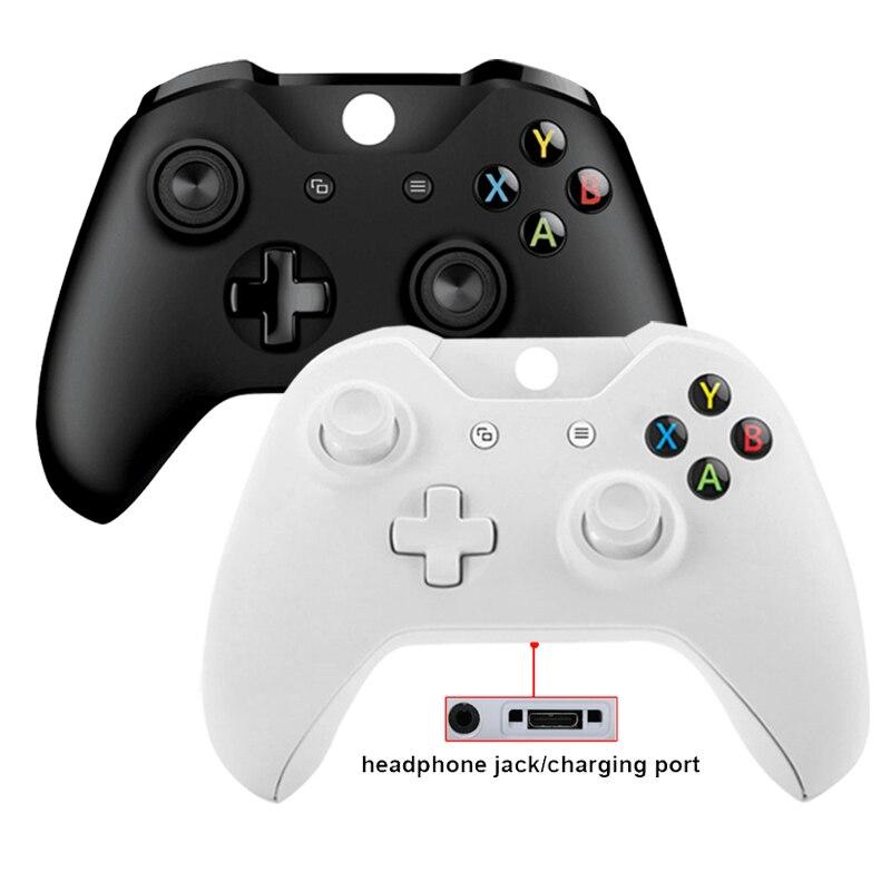 Para xbox um controlador remoto sem fio gamepad mando controle jogos para xbox um joystick do jogo do joypad para xbox um nenhum logotipo