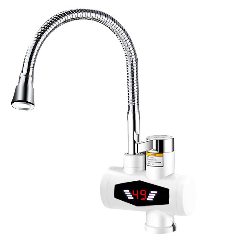 RX-015-3X,Inetant Electric Heating Water Faucet,Digital Display Instant Hot Water Tap,Fast Electric Heating Water Tap