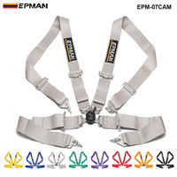 New Epman Racing For Golf For Honda Universal 4 Point 3Nylon Strap Harness Safety Camlock EPM 07CAM