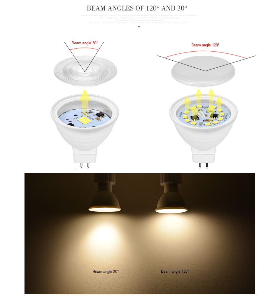 Light Bulbs Led Bulbs & Tubes Practical Mr16 220v Led Bulb 7w Led Lamp Smd2835 Cob Chip Beam Angle 120 Plastic Aluminum Cool Spotlight Energy Saving Table Ceiling Light Easy And Simple To Handle
