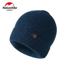 NatureHike Womens Winter Hats Warm Men Hat Skiing Hunting Tourism Hiking Cap Wool Brand Thick Female Sports Knitted