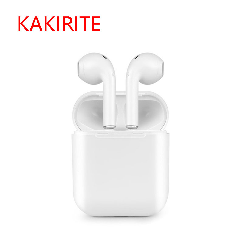 KAKIRITE <font><b>I8</b></font> <font><b>TWS</b></font> Wireless Bluetooth <font><b>Earphones</b></font> Stereo With Microphone And Charging Box For Samsung Iphone Xiaomi Smart Phones image