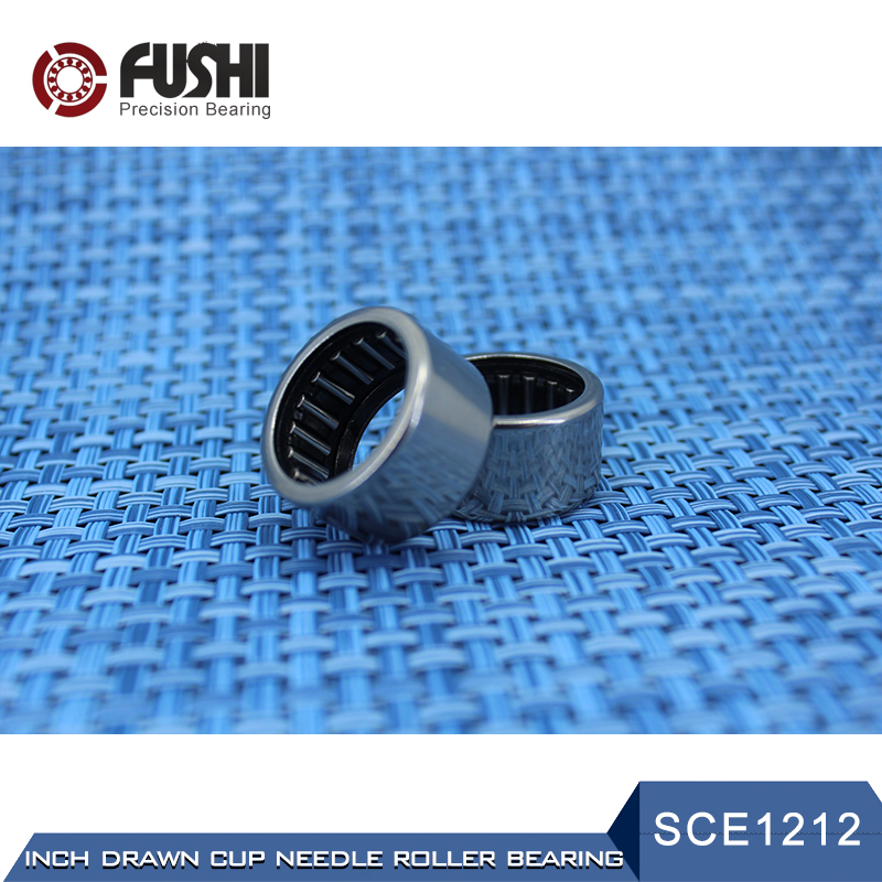 SCE1212 Bearing 19.05*25.4*19.05 mm ( 2 PCS ) Drawn Cup needle Roller Bearings B1212 BA1212Z SCE 1212 Bearing na4910 heavy duty needle roller bearing entity needle bearing with inner ring 4524910 size 50 72 22