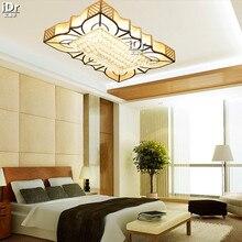 New Design Crystal Light Luxury lamp Ceiling Lights LED rectangular living room bedroom factory outlets