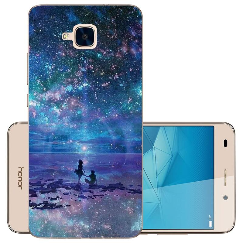 CaseRiver Soft Silicone (versión rusa) para Huawei Honor 5C Carcasa - Accesorios y repuestos para celulares - foto 4