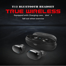 TWS Wireless Mini Bluetooth Earphone Stereo Earbud Sport Ear Phone With Mic Portable  Charging Box For Xiaomi Huawei Iphone azexi new style true wireless bluetooth earphone mini twins in ear stereo tws with charging box for samsung apple huawei xiaomi