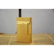 100% Новая Винтажная яркая звуковая газовая зажигалка dupont ветрозащитная для сигарет