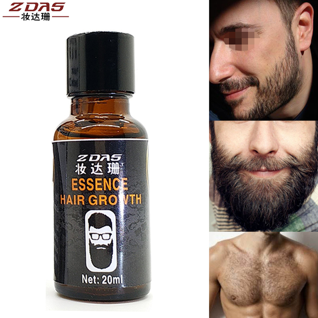 Hair Loss Product New Original Men Beard growth oil mustache grow serum stimulator 100% natural acceler eyebrow essence 20ml