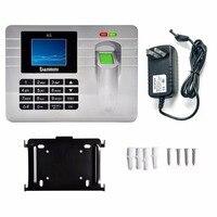 DANMINI A5 Fingerprint Sensor Employee Attendance Machine Time Clock Recorder 2 4 Inch TFT Color Screen