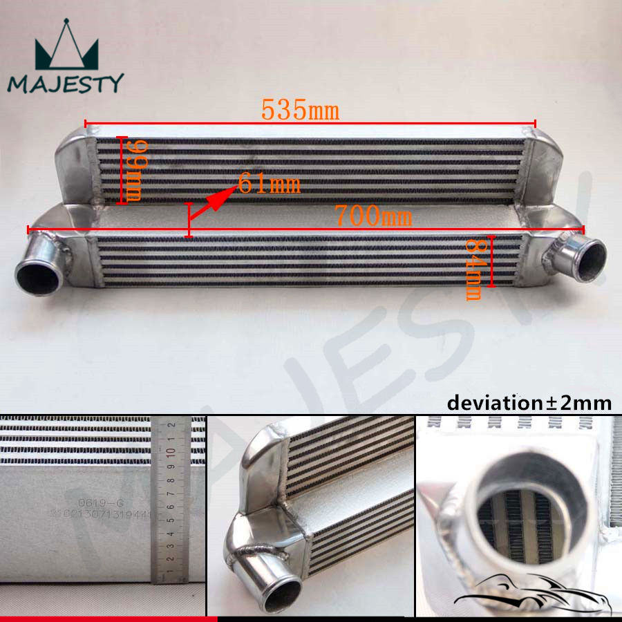 Front mount intercooler Fits For BMW Mini Cooper S R56 R57 FMIC R56 2007-2012 Alloy engine aluminum front strut tower bar for bmw mini r55 r56