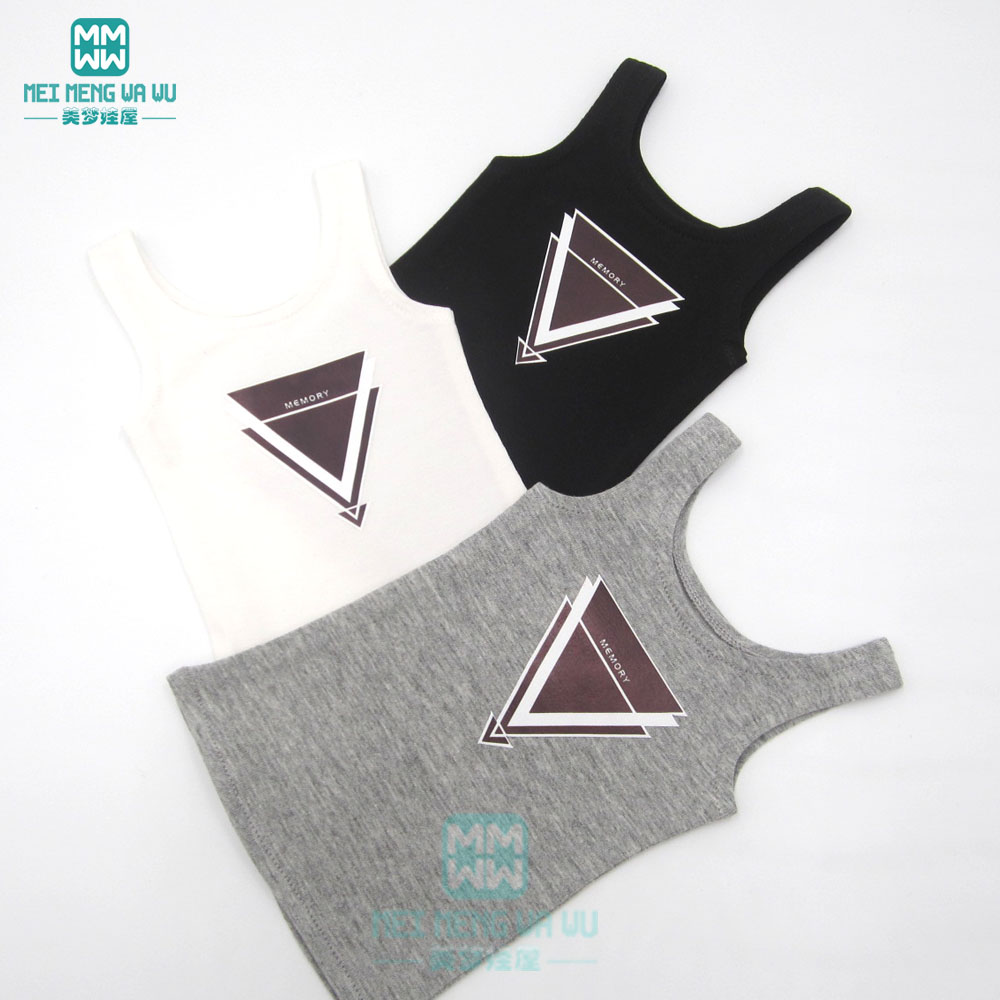 1/6 BJD Doll Clothes Tank Top For YOSD Doll Vest Casual Outfit