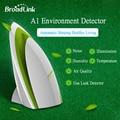 Broadlink a1, casa inteligente, sensor de temperatura sensor de humedad, sensor de sonido luz de gas de calidad del aire, Wifi inalámbrico de Control Remoto