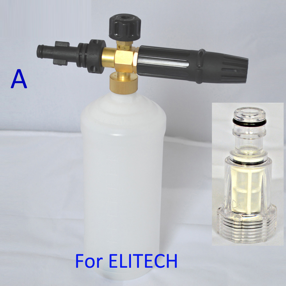 High Pressure Foamer : Foam nozzle snow soap lance high pressure foamer
