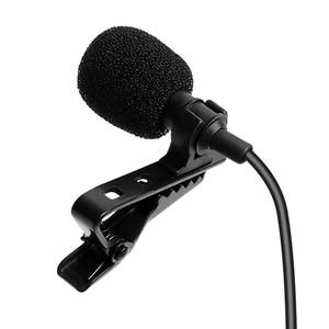 Image 3 - MAONO Lavalier Microphone Mini Portable Microphone Condenser Clip on Lapel Mic Wired Collar Mikrofo/Microfon for Phone Laptop