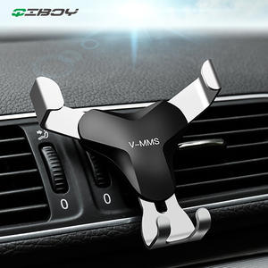 Universal Gravity Car Phone Holder Support GPS Car Air Vent Stand Mount Mobile Smartphone For iPhone X XS Samsung S9 S10 Bracket