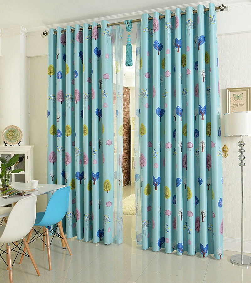 eco friendly curtains for kids children cartoon blackout panel drapes window treatment zooin curtains from home u0026 garden on
