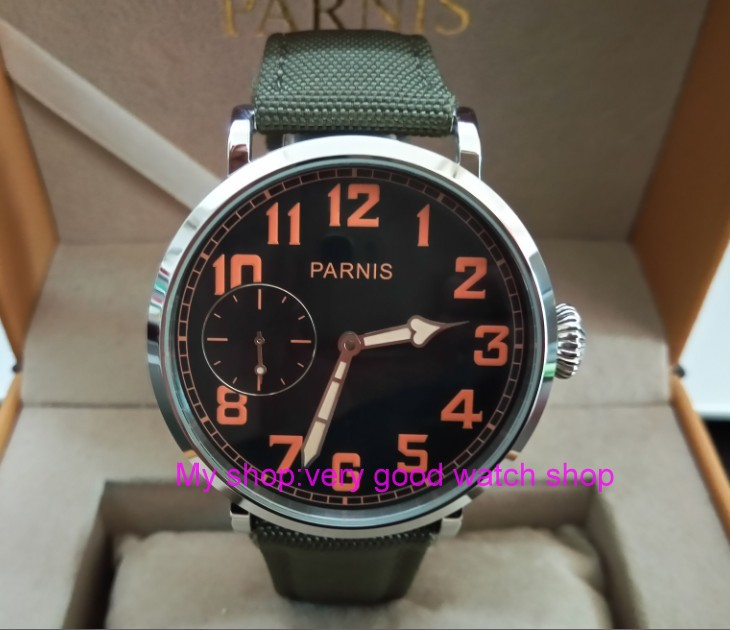 46mm parnis Black dial Asian 6497 17 jewels Mechanical Hand Wind movement men watch luminous Mechanical watches zdgd197a46mm parnis Black dial Asian 6497 17 jewels Mechanical Hand Wind movement men watch luminous Mechanical watches zdgd197a