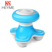 HEYME Portable Health Care Hand Held USB Powered Battery Operated Mini Massager Full Body Massage Tool Electric Wave Vibrating C