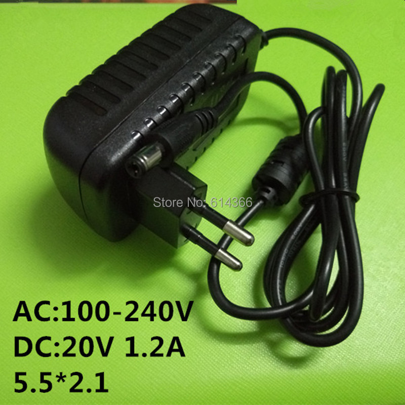10PCS New 20v1.2a switching power supply LED lamp power supply 20 v power supply 20v 1.2A 1200mA power adapter  EU plug autoeye cctv camera power adapter dc12v 1a 2a 3a 5a ahd camera power supply eu us uk au plug