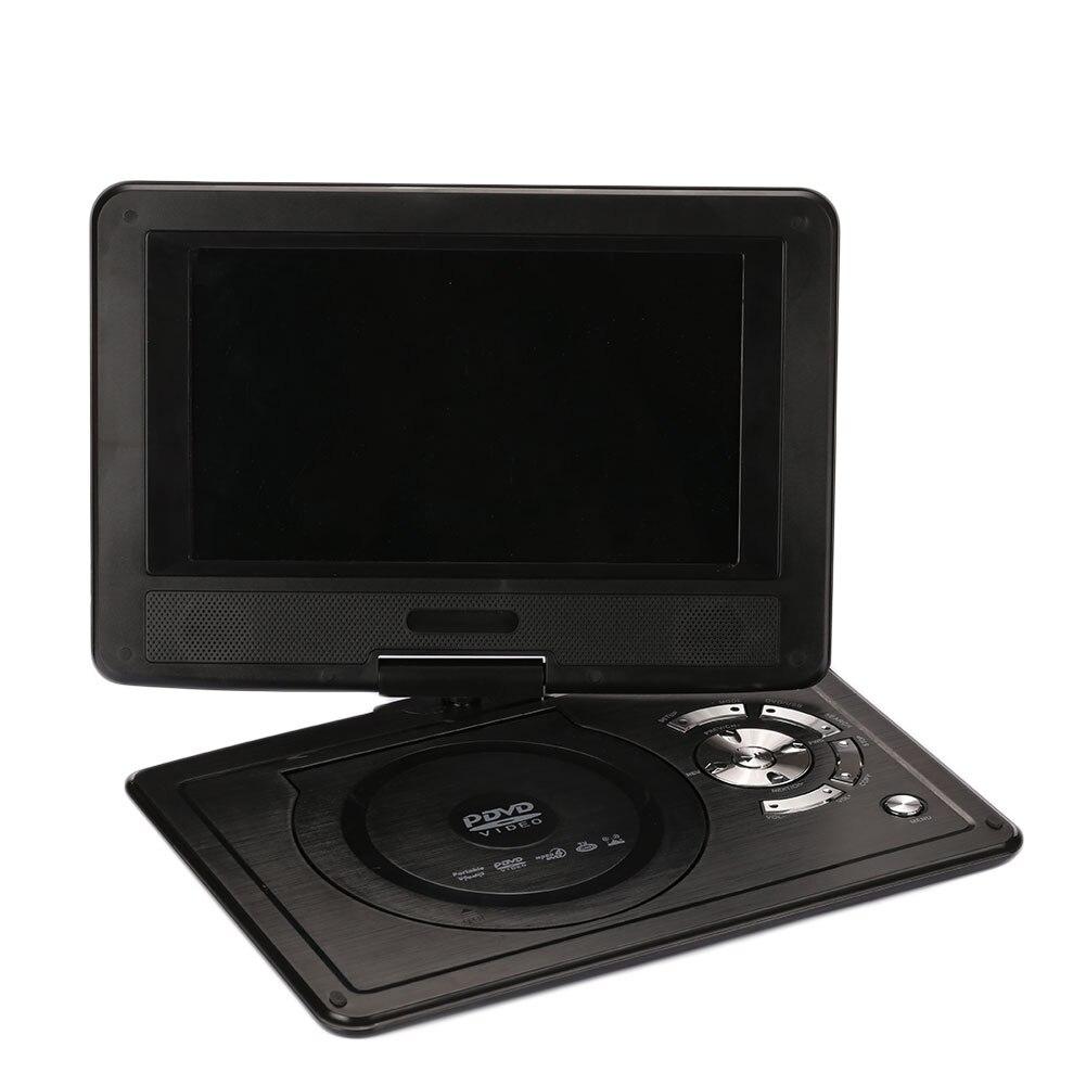9'' LCD Display 720P HD VCD EVD DVD Media Player EU Plug Portable Support U Disk проигрыватель sast aep 975 dvd evd usb rmvb