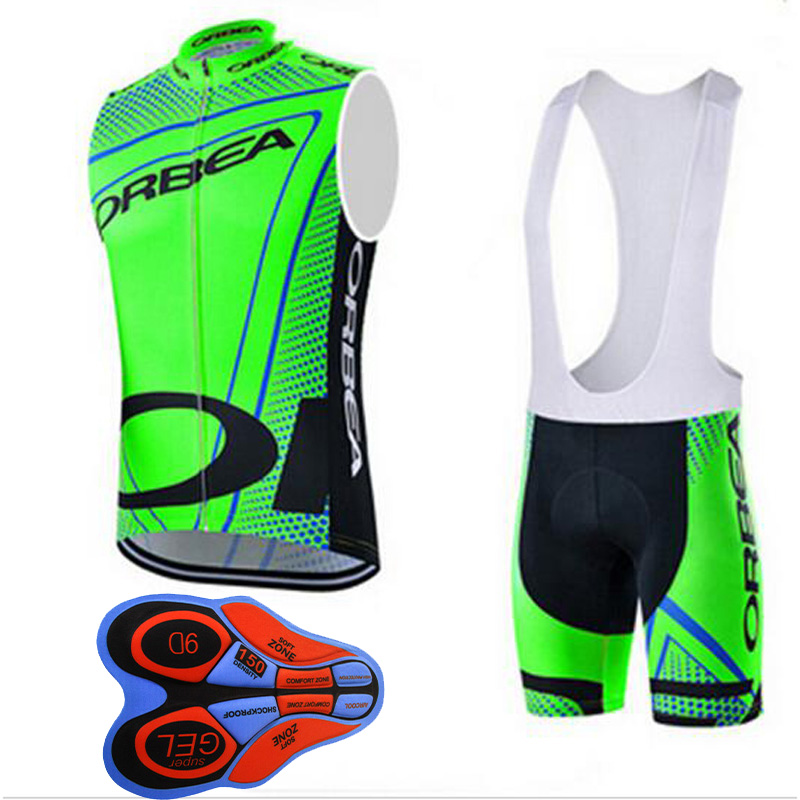 New ORBEA cycling sleeveless jersey cycling clothing set 2017 summer MTB bicycle wear road bike maillot Ropa ciclismo hombre G22 цена 2016