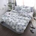 Комплект постельного белья из 4 предметов  с вельветом и 3D рисунком «Королева»  фланелевая флисовая кровать  для зимы  2019
