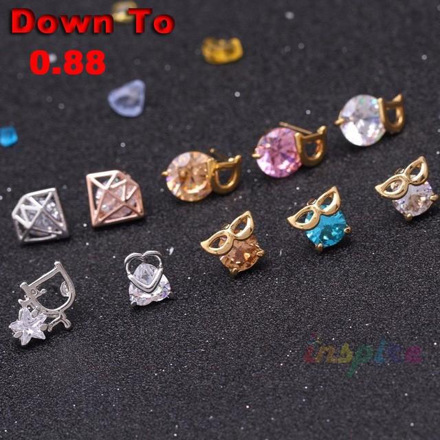 Clearance-Korean-Stud-Earrings-Fashion-Jewelry-Real-Zircon-Animal-Design-Crystal-Earrings-2016-Promotion-Bulk-Extra