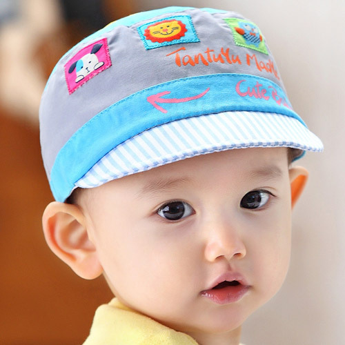 765522073 Cute Baby Boys Girls hat cotton fitted animal korean Cap Newborn ...