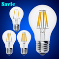 NEW E27 E14 Antique LED Edison Bulb 220V Retro LED Filament Light Vintage LED Candle Light Lamp 4W 8W 12W 16W LED Glass Bulb