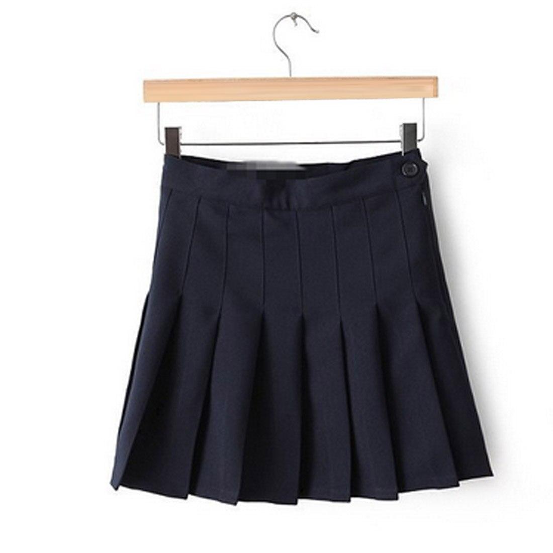 Fashion Women Lady Cute High Waist Plain Skater Flared Pleated Short Mini Skirt Shorts High Quality Comfortable