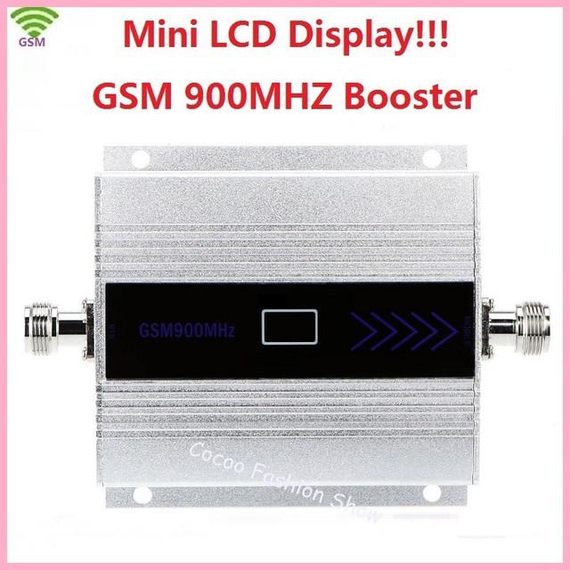Hot 2G GSM 900 MHz Repetidor 900 mhz GSM Teléfono Celular Móvil Amplificador de señal de teléfono Repetidor ganancia 60dbi pantalla LCD para casa oficina