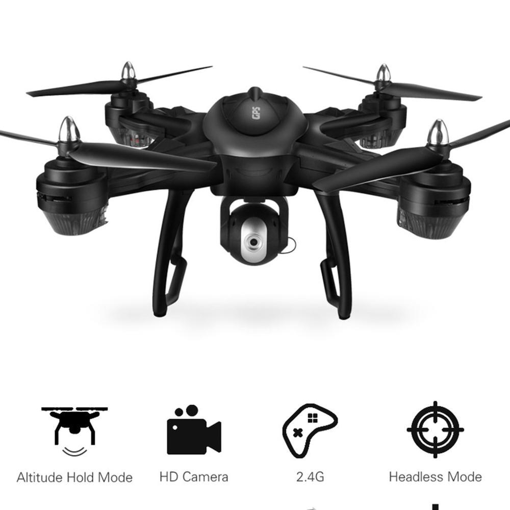 LH-X38GWF Drone Dual GPS WIFI FPV Drone HD 1080P Camera Remote Control Helicopter RC Drone Professional Drone w/ 3*Batteries(China)