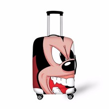 Эластичный путешествия камера защитная крышка чемодан Крышка Водонепроницаемый багажа пыли Водонепроницаемый охватывает Применить для 18-30 дюймов Багажник Случае