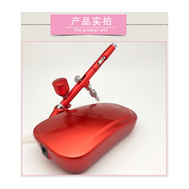 Nano oxygen injecting apparatus small bubble beauty instrument portable face importing water replenishing high pressure sprayer