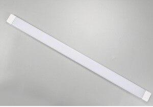 Image 2 - Diodo emissor de Luz à prova de Tri 60 cm 90 centímetros 120 centímetros 27W 40W 54W Levou Tubo Plana 3 Batten Luz Brilho Super diodo emissor de Luz Linear, frete Grátis