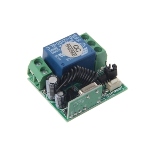 Image 4 - 1 PC DC 12V 10A Relay 1CH Wireless RF Remote Control Switch Transmitter + Receiver 315MHz/433MHz