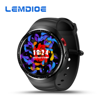 LEMDIOE Date Z10 Bluetooth SmartWatch Android 5.1 16 GB ROM 3G Montre Intelligente WiFi SIM Carte Montre-Bracelet Hommes Smartwatch GPS