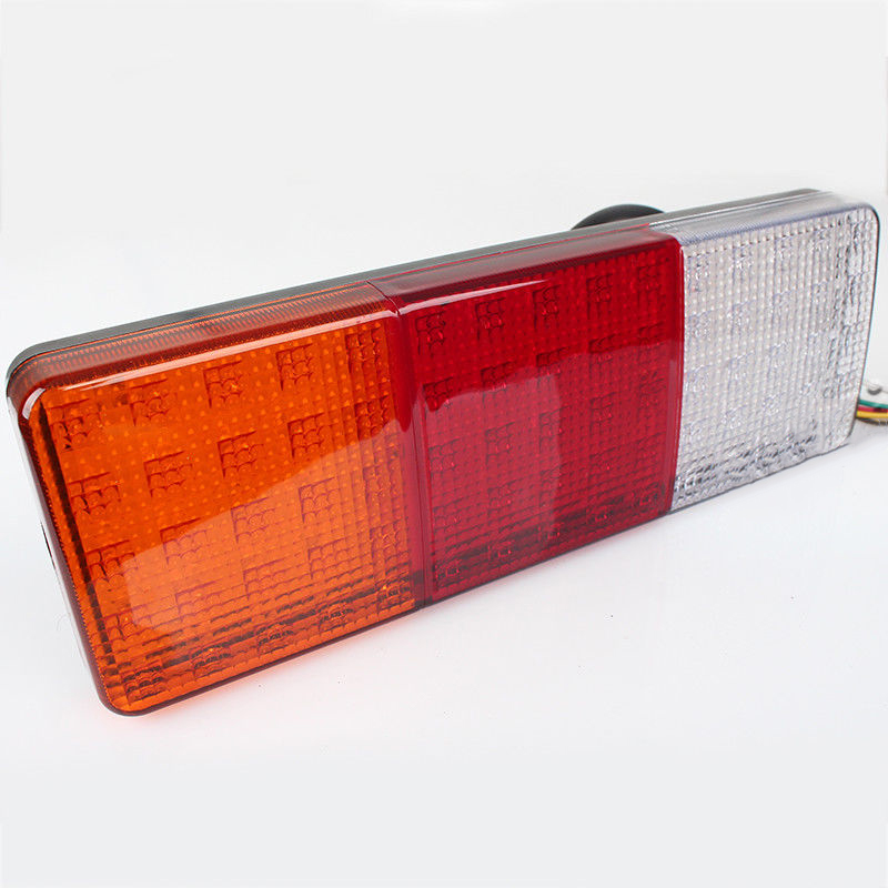 1X 75 LED Tail Light Truck Trailer RV Boat Stop Rear Reverse Turn Indicator Lamp image