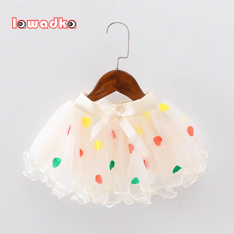 Lawadka  Kid Girls Skirts Princess Style Tutu Pettiskirt Love tutu Skirts Girl Dance Skirt Baby Clothes Summer Style