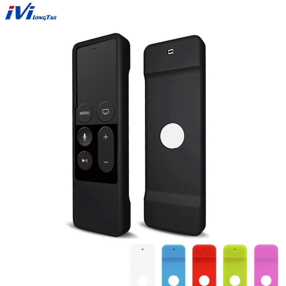 Remote Case for Apple Tv 4th Generation Silicone Rubber Skin Soft Case Cover For Apple TV 4 4th Remote Control Controller ...