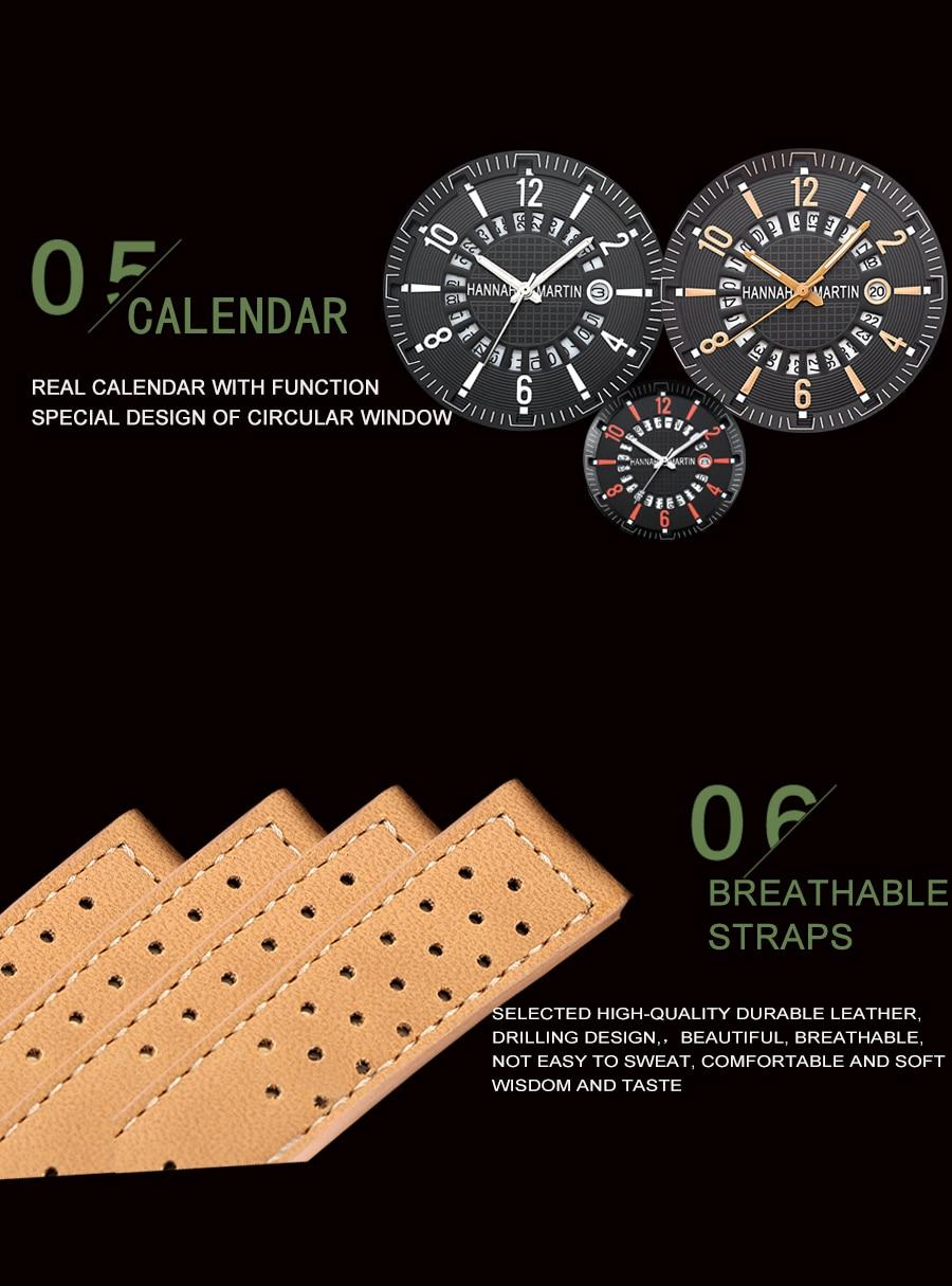 HTB13VRcacfrK1RjSszcq6xGGFXaY Men Wrist Watch Leather Casual Waterproof Calendar