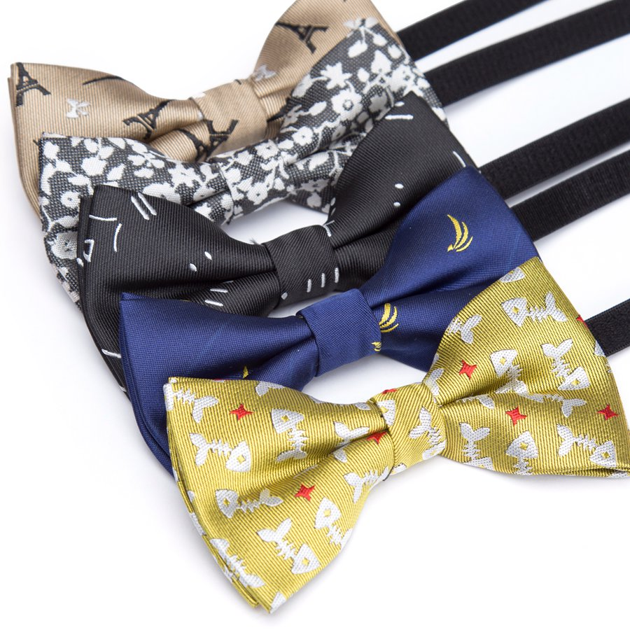 Children Bowtie Fashion Ties Formal Bow Tie Baby Kid Polester Bowties Colorful Butterfly Wedding Parties Pet Dress Necktie