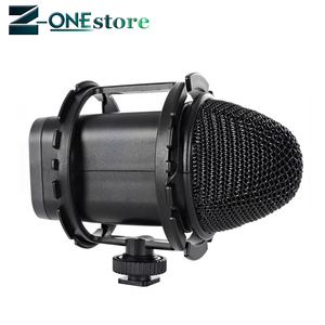 """Image 3 - BOYA BY C03 Camera Shoe Shockmount for Microphones 1"""" to 2"""" in Diameter (Fits the Zoom H1)"""