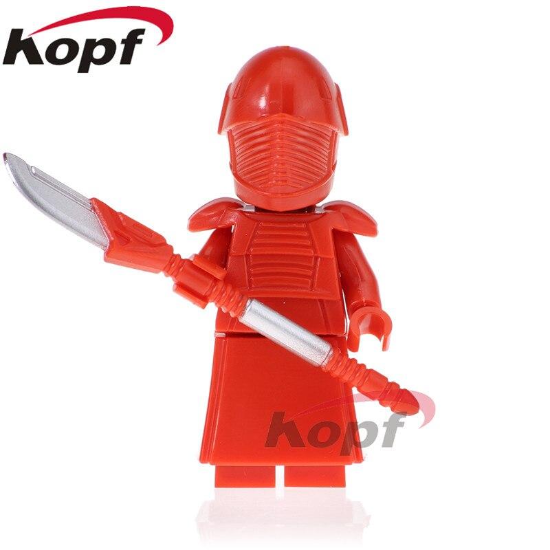 все цены на Single Sale The Last Jedi Star Wars Redrobes Red Guard Obi-Wan Kenobi Bricks Education Building Blocks Children Gift Toys PG816 онлайн