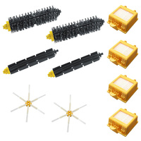 6 Armed Brush Filters Hepa Filter Clean Replacement Tool Kit For IRobot Roomba Vacuum Part 700