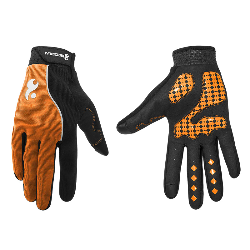 Men & Women Cycling Gloves Full Finger Screen Outdoor Bicycle Gloves - Cycling - Photo 2