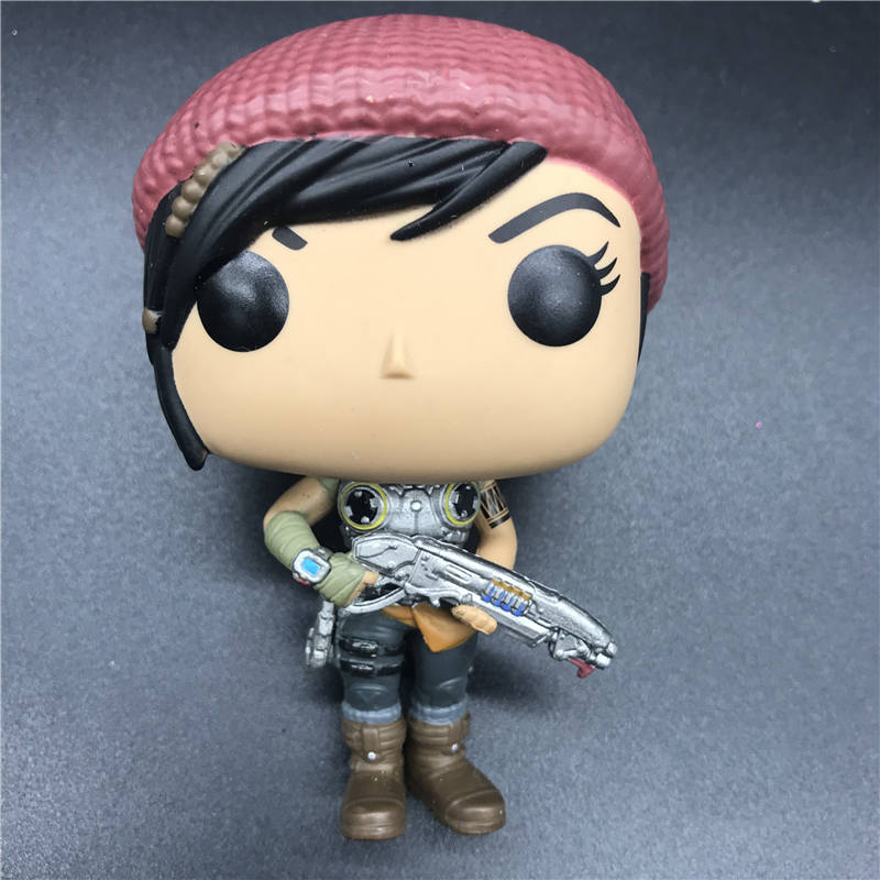 Pops Games Kait Diaz Gears of War Vinyl Figure model toy Collection of gifts in Action Toy Figures from Toys Hobbies