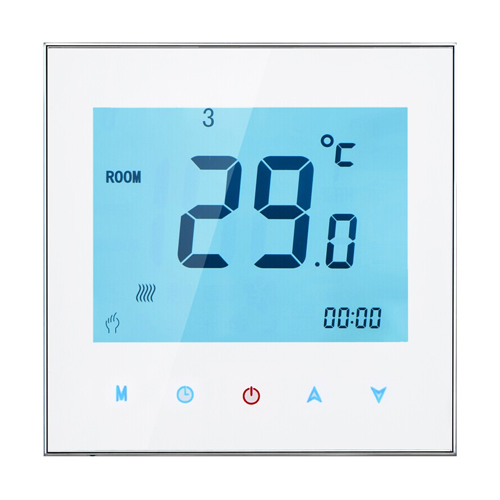 цены THP-1000GA WIFI Touch Screen Water Heating Room Thermostat digital heating thermostat