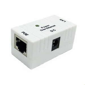 Image 2 - New Hot sale 50PCS/LOT RJ45 Connector POE Splitter Injector For CCTV Security system IP  Camera Power over Ethernet Adapter